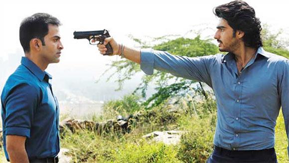 Prithviraj and Arjun Kapoor in Aurangzeb
