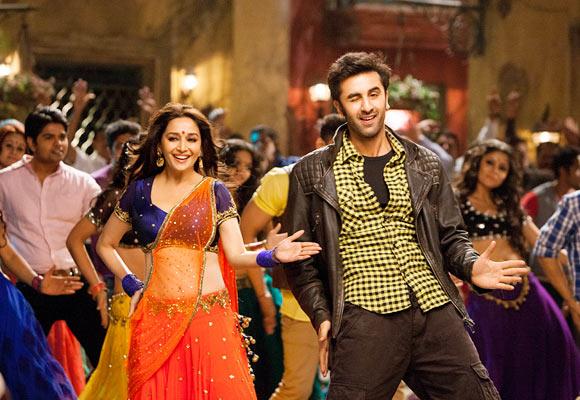 Ranbir Kapoor and Madhuri Dixit