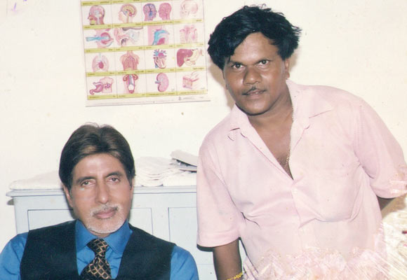 Amitabh Bachchan and Jagannath Sasane