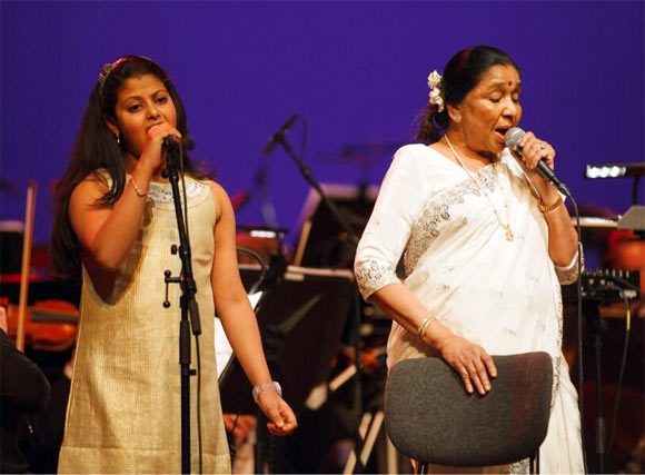 Zanai and Asha Bhosle