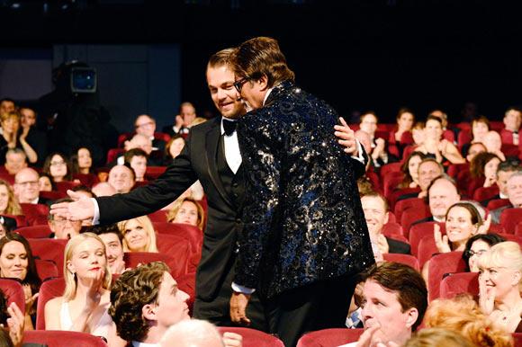 Leonardo DiCaprio and Amitabh Bachchan