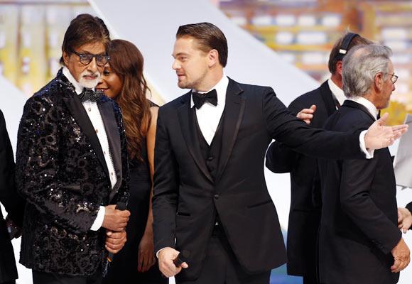 Amitabh Bachchan and Leonardo DiCaprio