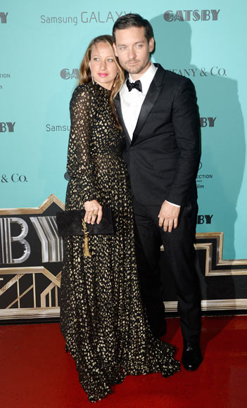 Jennifer Meyer and Tobey McGuire