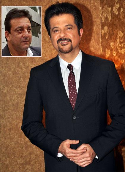 Anil Kapoor. Inset: Sanjay Dutt