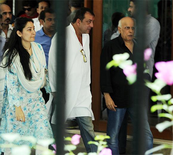 Maanyata and Sanjay Dutt, Mahesh Bhatt