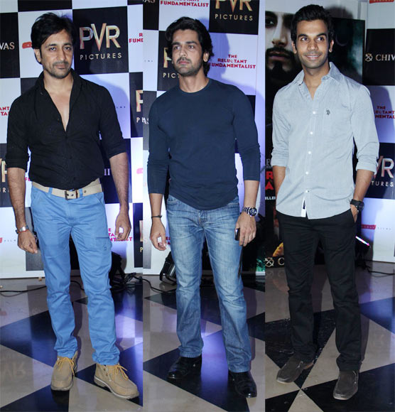 Rajev Paul, Arjun Bajwa and Rajkumar Yadav