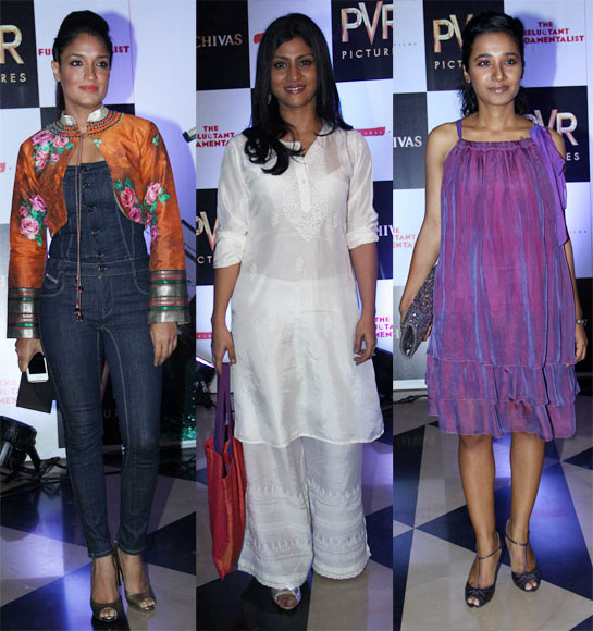 Sandhya Mridul, Konkona Sen Sharma and Tannishtha Chatterjee