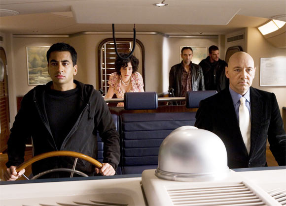 Kal Penn with Kevin Spacey in Superman Returns