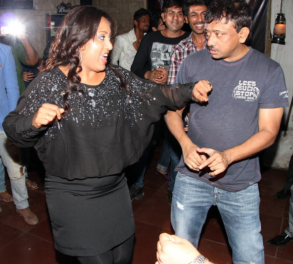 Shabina Khan and Ram Gopal Varma
