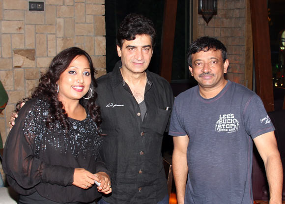 Shabina Khan, Inder Kumar and Ram Gopal Varma