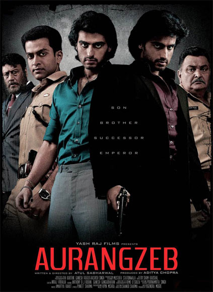Movie poster of Aurangzeb