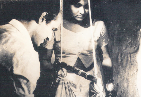 Bharat Gopi and KPAC Lalitha in Kodiyettam