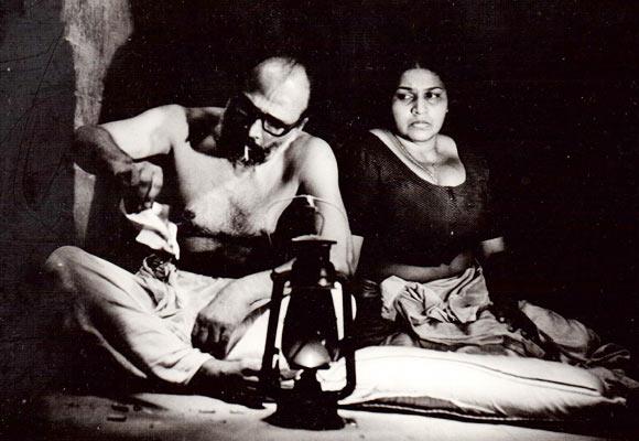P Ganga and Kaviyoor Ponnamma in Mukhamukham