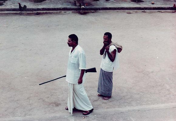 Mammootty and Gopakumar in Vidheyan