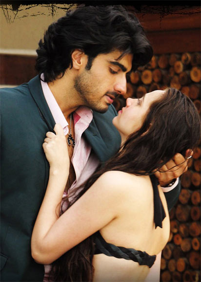 Arjun Kapoor and Sashaa Agha in Aurangzeb