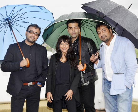 Dibaker Banerjee, Zoya Akhtar, Karan Zohar, Anurag Kashyap