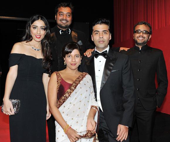 Ashi Dua, Zoya Akhtar, Anurag Kashyap, Karan Johar and Dibakar Banerjee