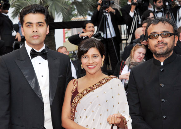 Karan Johar, Zoya Akhtar, Dibaker Banerjee