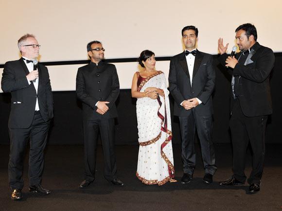 Dibaker Banerjee, Zoya Akhtar, Karan Johar and Anurag Kashyap