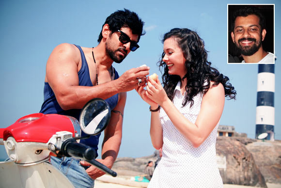 Vikram and Isha Sharvani in David. Inset: Bejoy Nambiar