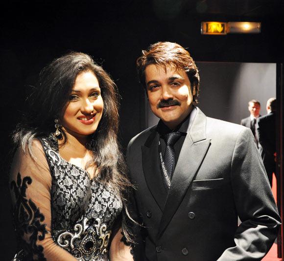 Rituparna Sengupta and Prosenjit