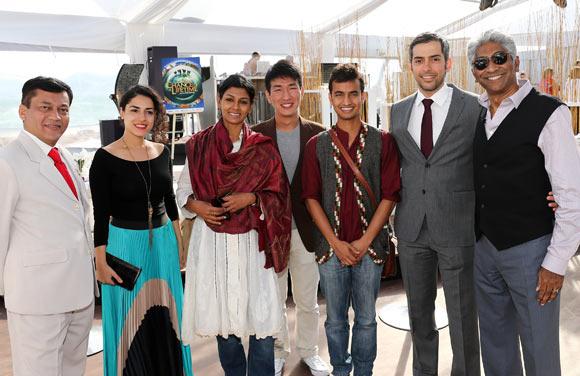 Bhuvan Lall, Amna Al Nowais, Nandita Das, Tay Yu Xian, Sagar Shiriskar, Mohammed Al-Otaiba and Ashok Amritraj