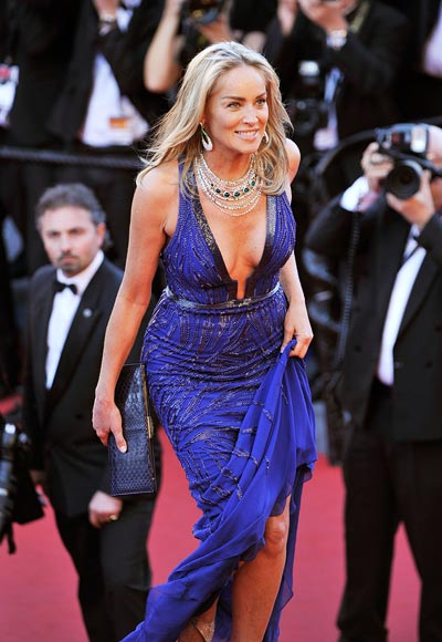 Current Bollywood News & Movies - Indian Movie Reviews, Hindi Music & Gossip - PIX: Sharon Stone, Milla Jovovich HOT UP Cannes red carpet