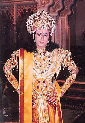 Nitish Bharadwaj in Vishwapuran