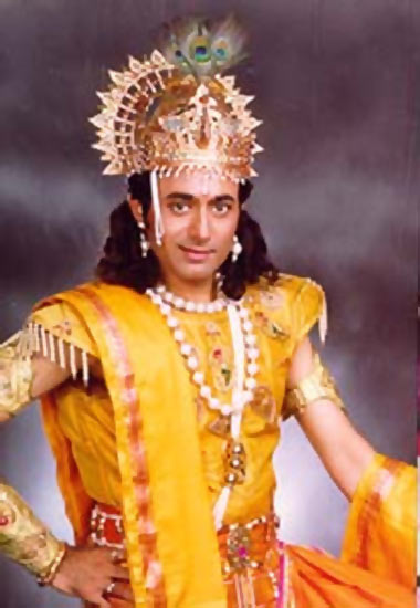 Krishna in mahabharat star plus real name