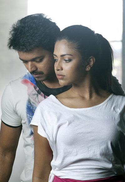 Vijay and Amala Paul in Thalaivaa