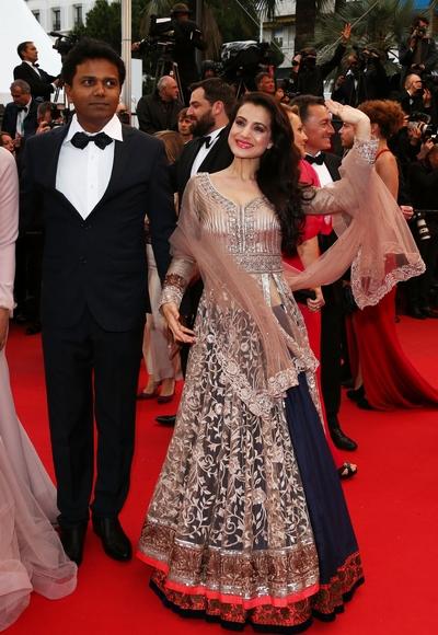 Ameesha Patel with Susi Ganesan