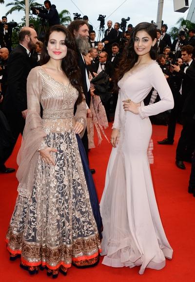Ameesha Patel and Puja Gupta