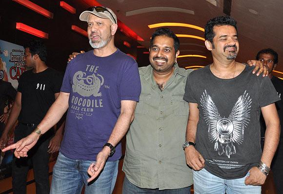 Loy Mendonca, Shankar Mahdevan, Eshaan Noorani