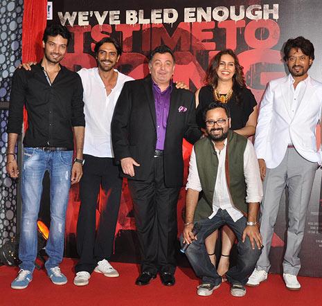 Aakash Dahiya, Arjun Rampal, Rishi Kapoor, Nikhil Advani, Huma Qureshi, Irrfan Khan