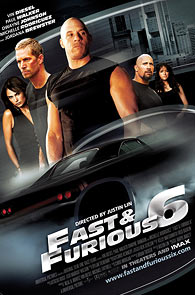 Movie poster of The Fast and The Furious 6