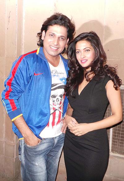 Rajan Verma and Riya Sen