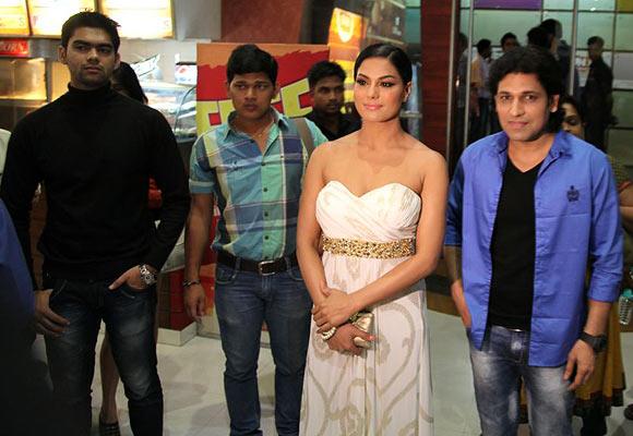 Veena Malik and Rajan Verma