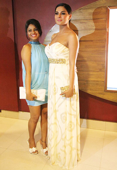 Supriya Kumar and Veena Malik