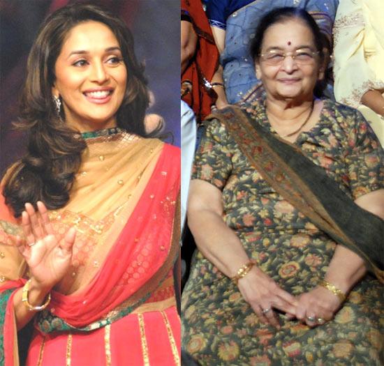 Madhuri and Snehlata Dixit
