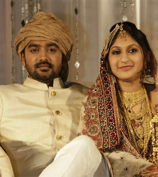 Asif Ali and Zama Mazreen