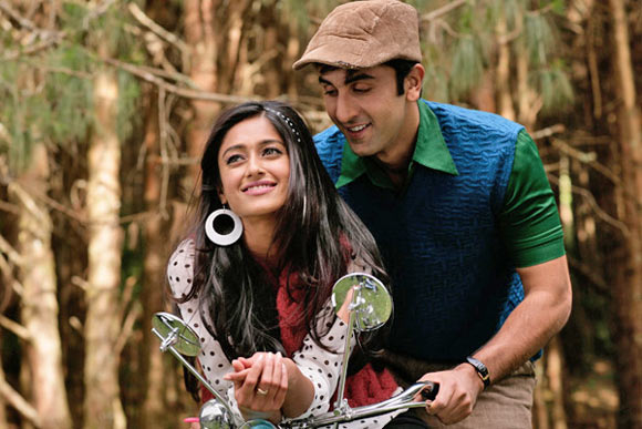 Ranbir Kapoor with Ileana D'Cruz in Barfi!