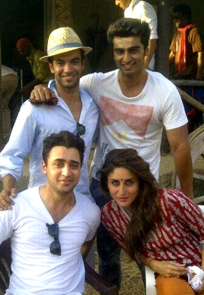 Punit Malhotra, Arjun Kapoor, Kareena Kapoor and Imran Khan