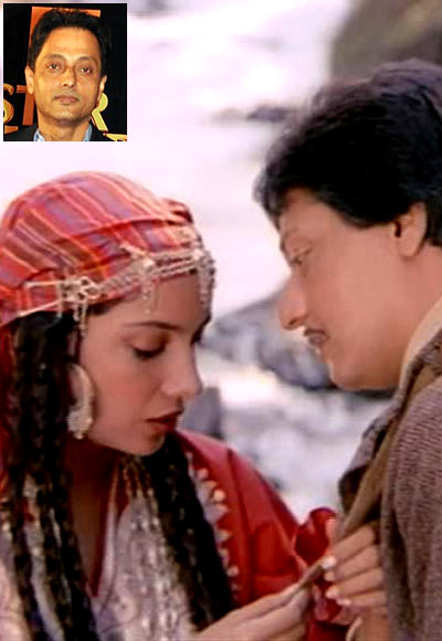 Shabana Azmi and Amol Palekar in Khamosh. Inset: Sujoy Ghosh