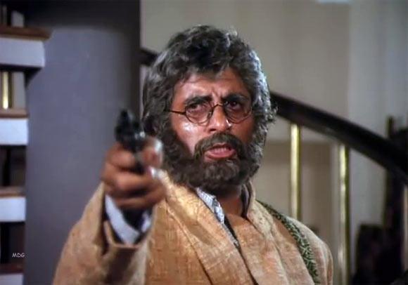 Amitabh Bachchan in Aakhri Raasta
