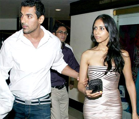 John Abraham with Priya Runchal
