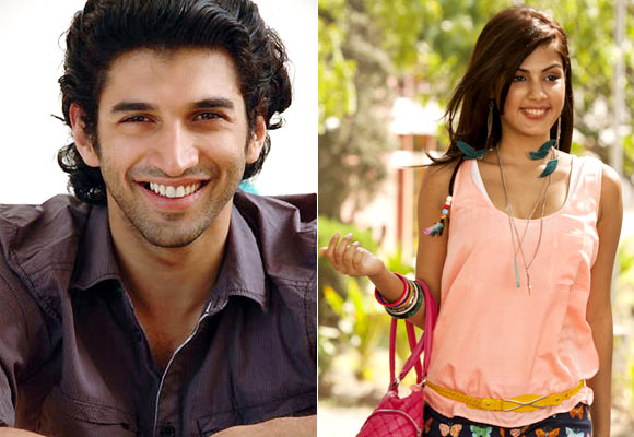 Aditya Roy Kapur and Rhea Chakraborty