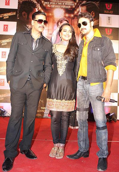 Akshay Kumar, Sonakshi Sinha and Imran Khan