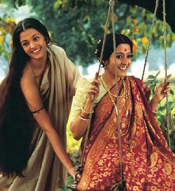 Aishwarya Rai Bachchan and Raima Sen in Choker Bali