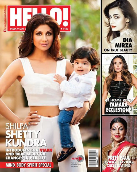 Shilpa Shetty and Viaan Kundra