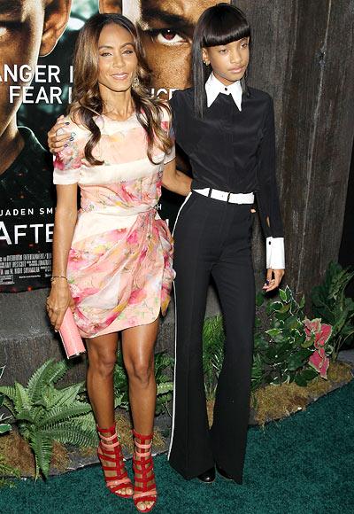 Jada Pinkett and Willow Smith